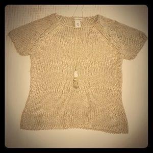 ✨Amazing! Tan Silky Knit Banana Republic Sweater!